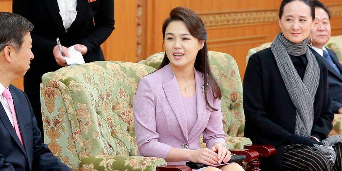 """Tras años de gobierno Kim Jong-un acaba de nombrar a su esposa como """"primera dama"""" de Corea del Norte"""