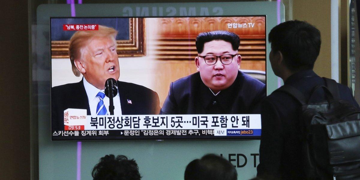 Norcorea acusa a Estados Unidos de provocarle con amenazas militares