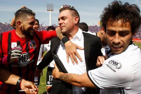 El técnico se va de Colo Colo / imagen: Agencia UNO