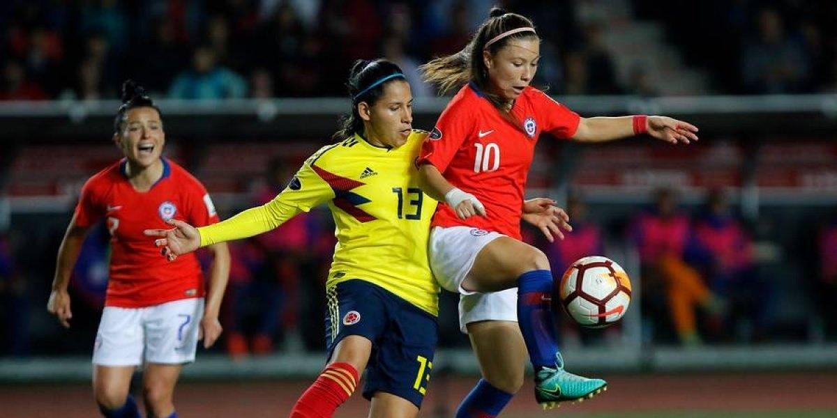 La Roja femenina no pudo ante Colombia y tendrá que vencer a Argentina para ir al Mundial