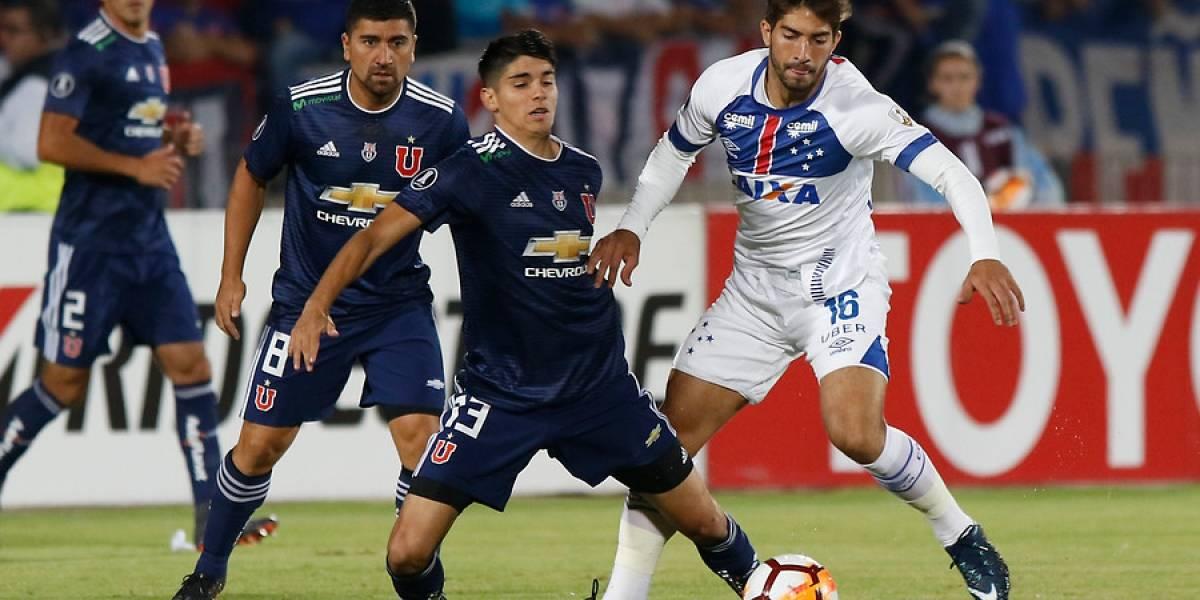 Así vivimos el empate entre la U y Cruzeiro por la Copa Libertadores