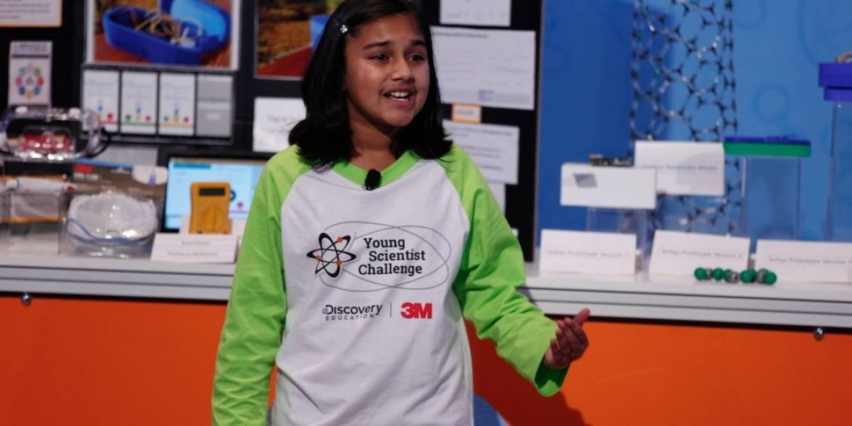 Conoce a esta niña de 12 años, que desarrolló un dispositivo barato para detectar la contaminación del agua