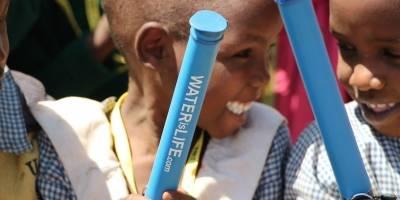 WATERisLIFE promueve el agua potable limpia con tecnología