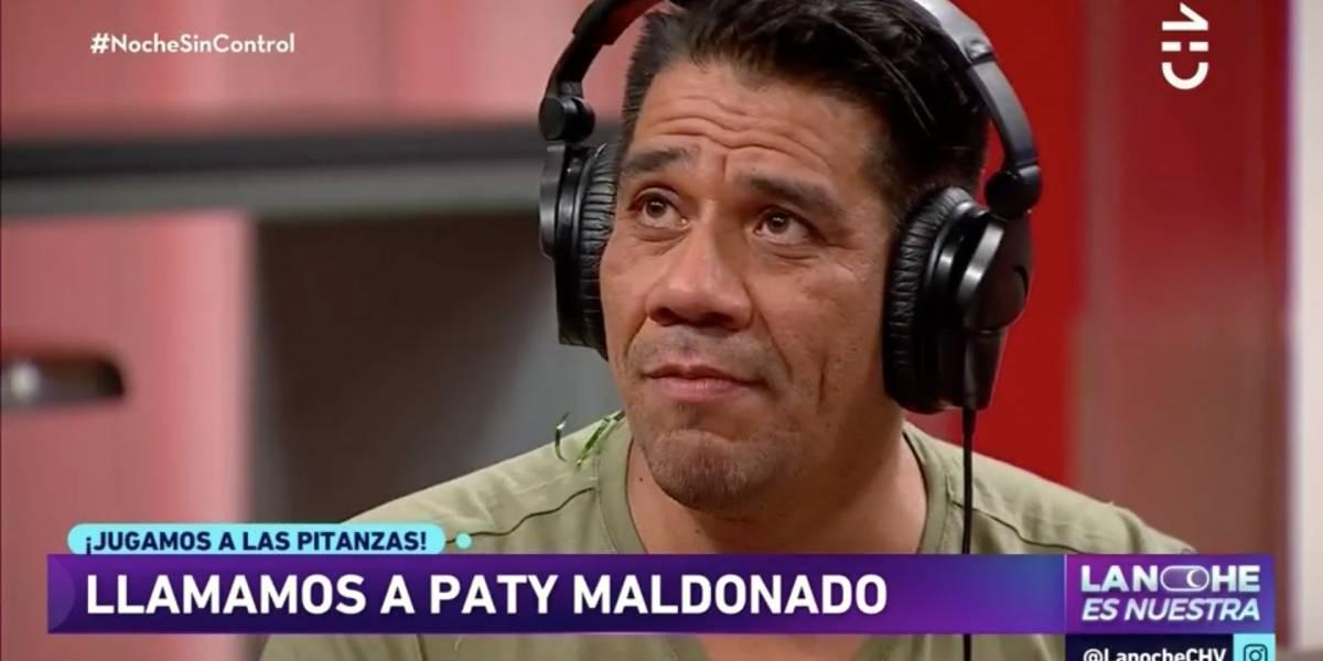 """""""¿Me estay agarrando pal hueveo?"""": La fallida y divertida pitanza de Dj Black y Pamela Díaz a Patricia Maldonado"""