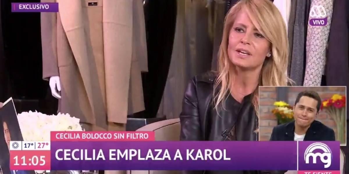 """Cecilia Bolocco a Karol Lucero: """"Sé que te derrites por las mujeres y nunca tendrás suficientes"""""""