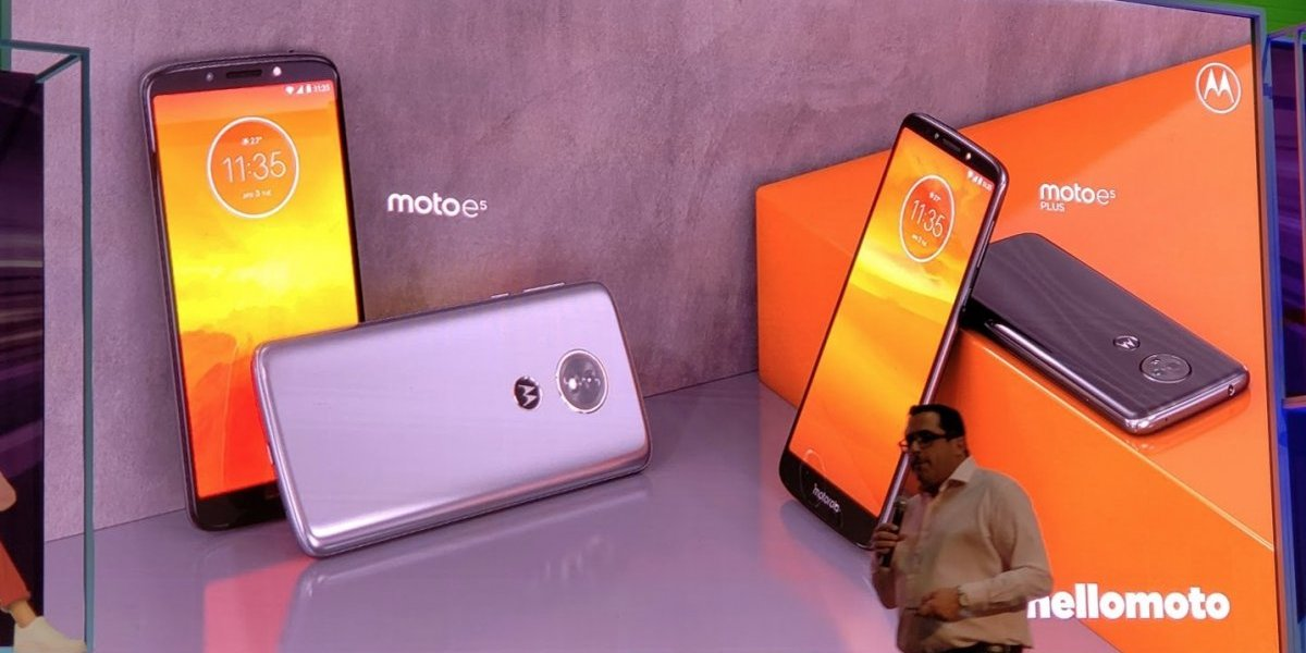 Conoce los nuevos Moto E5 de Motorola: la gama media-baja se renueva