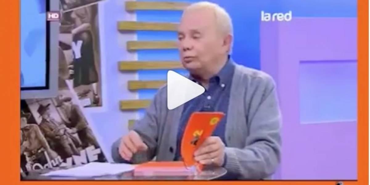"""El divertido video de Alfredo Lamadrid leyendo las frases de """"Es de roto"""""""