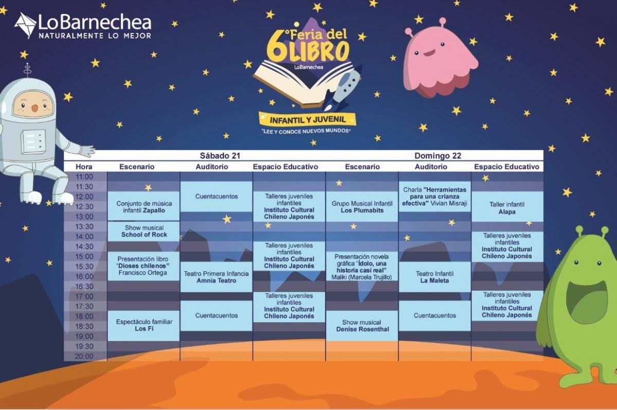 Calendario de Lo Barnechea