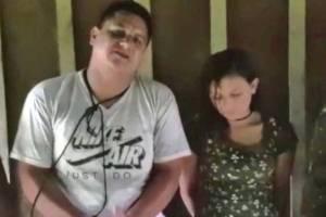 En redes sociales circula video de la familia de uno de los secuestrados en la frontera