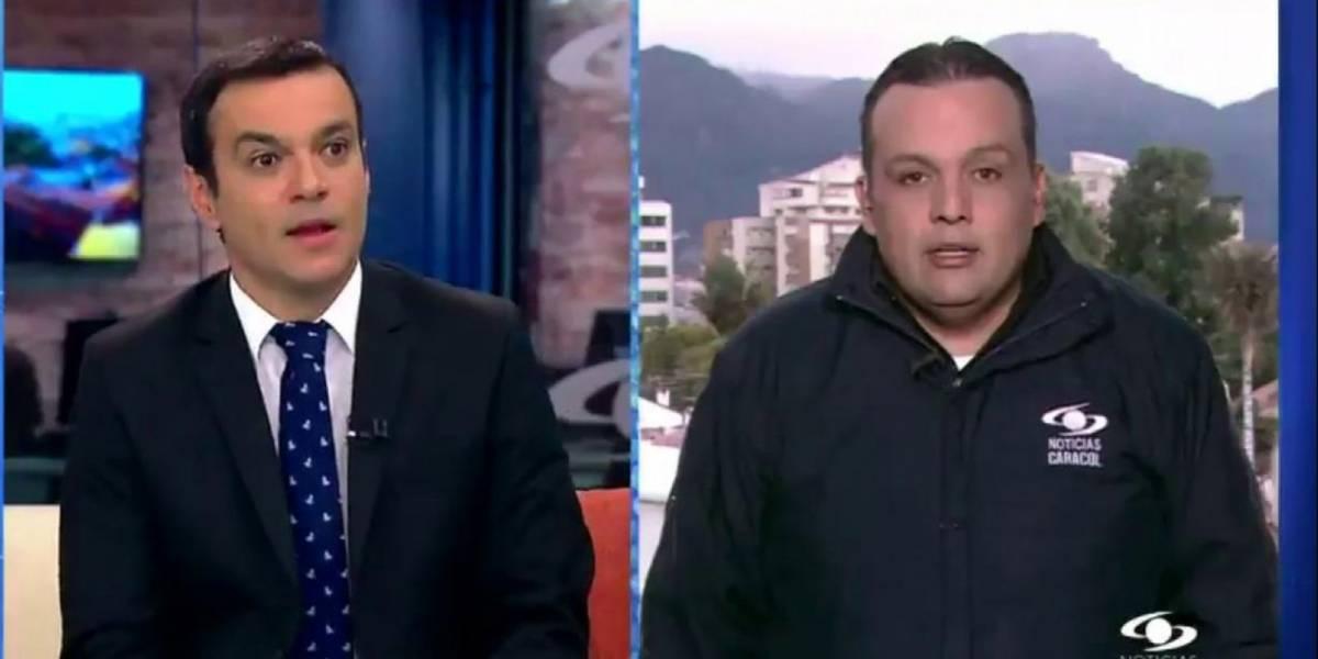 "Juan Diego Alvira le hizo ""matoneo"" a Edward Porras y lo 'boleteó' con poema de televidente enamorada"
