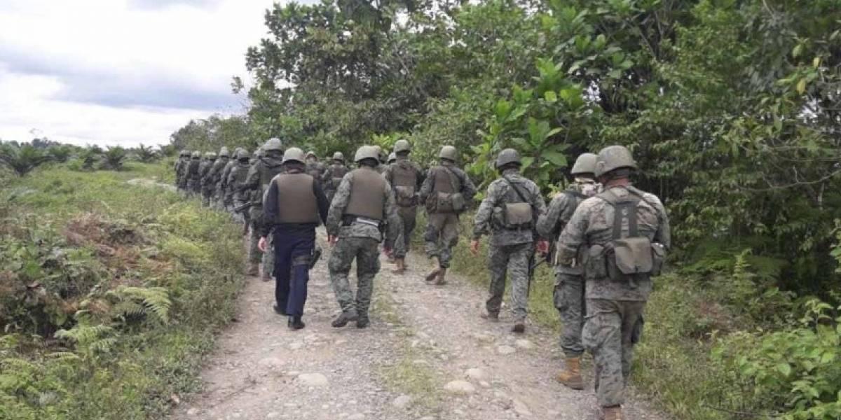 10.000 soldados y policías ecuatorianos están apostados en frontera con Colombia