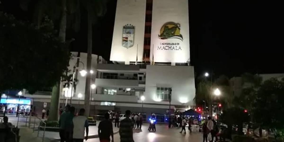 Se reportó una amenaza de bomba en Municipio de Machala, Corte de Justicia y Estadio 9 de Mayo