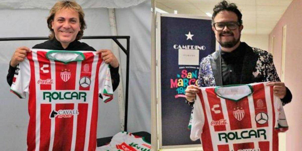Cristian Castro y Aleks Syntek se pusieron la del Necaxa