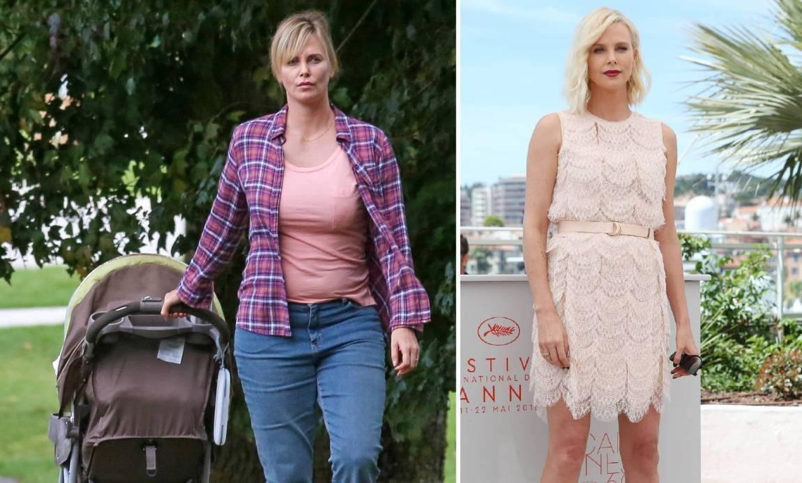 Charlize antes y después