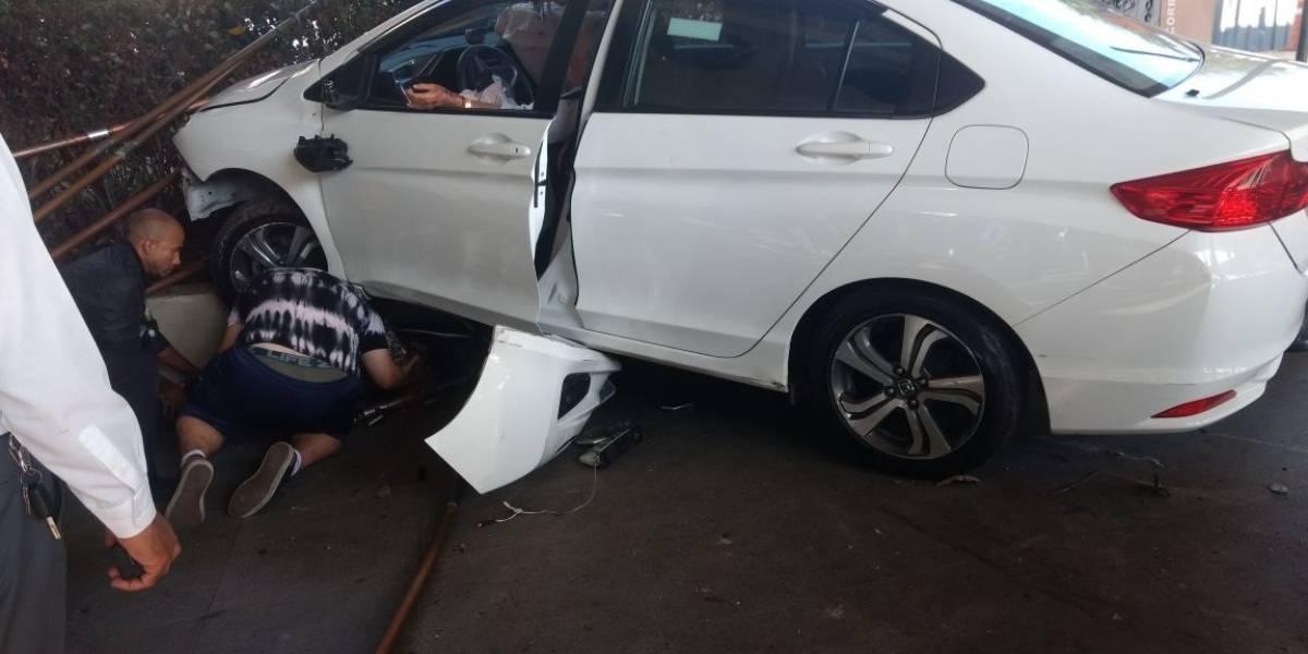Taxista passa mal e atropela mulher no aeroporto de Congonhas