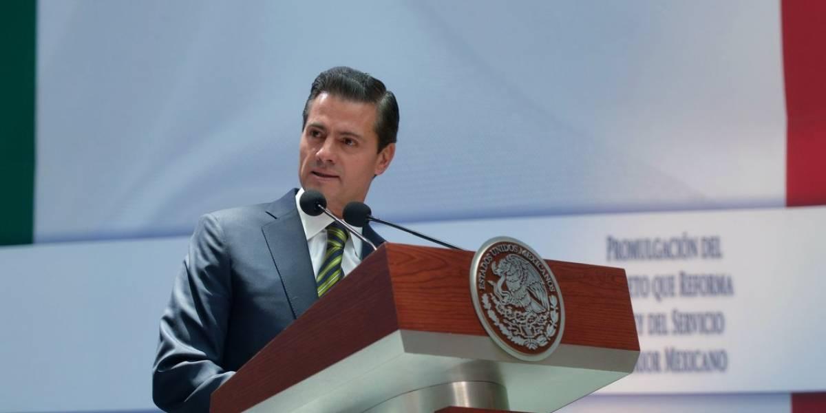 Peña Nieto felicita a Miguel Díaz-Canel por su elección como presidente de Cuba