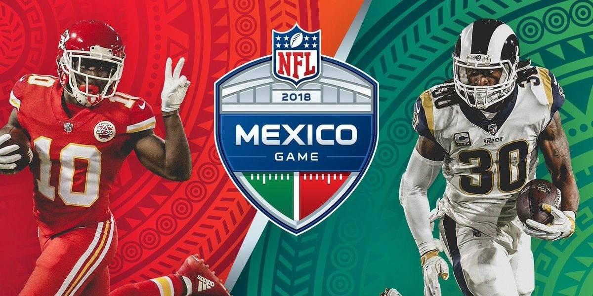 NFL confirma la fecha del juego Chiefs vs. Rams en el Azteca