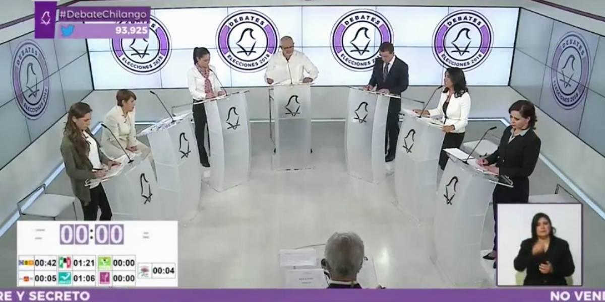 """Candidatos a la CDMX coinciden en que """"les fue bien"""" en el debate"""