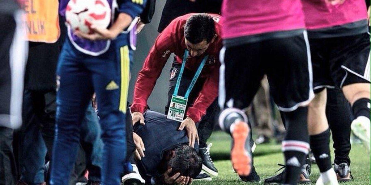 La sanguinaria entrada de Pepe en el clásico de Turquía
