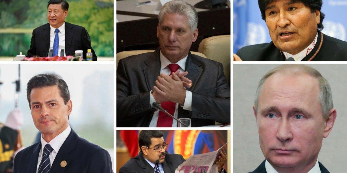 Líderes mundiales arropan a Miguel Díaz-Canel como nuevo presidente de Cuba