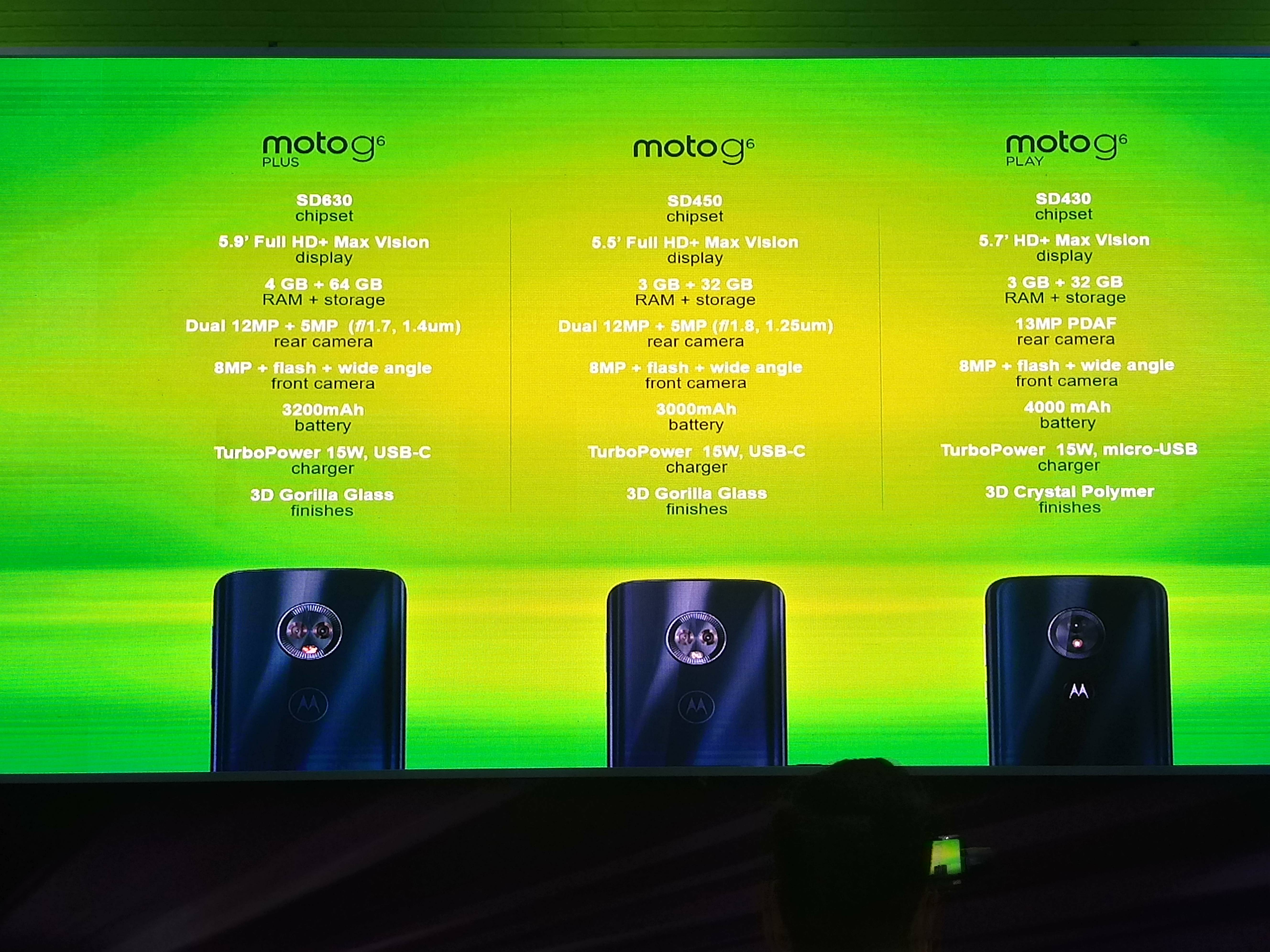 equipos G6