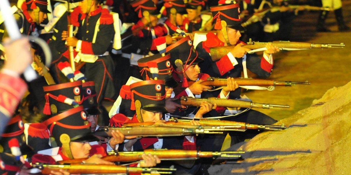 Ejército de Chile realizará una alegoría patriótica para conmemorar los 200 años de la batalla de Maipú