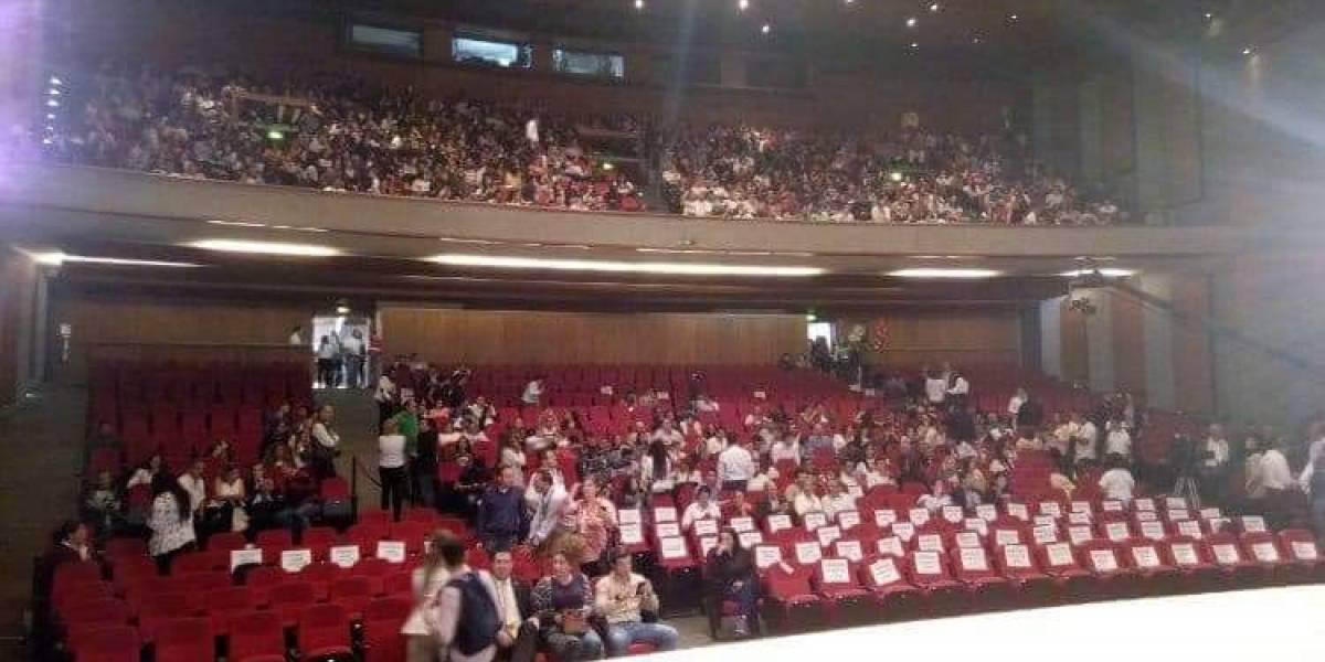 Disturbios en debate en Manizales habrían sido por unas sillas reservadas para Duque