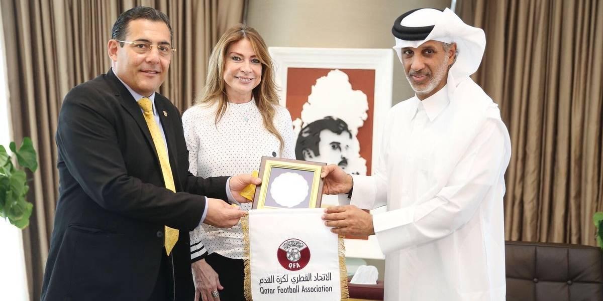 Ecuador vs Qatar se jugaría en octubre en Doha