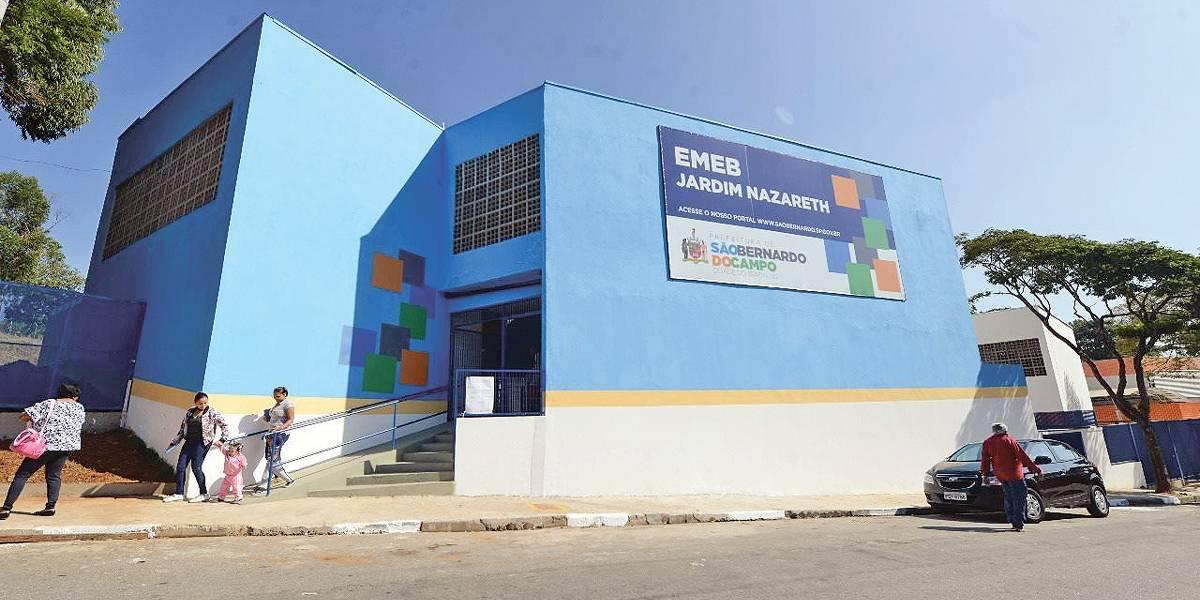 São Bernardo abre escola e creche no Jardim Nazareth