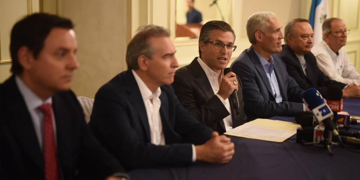 """""""Le pedimos disculpas a Guatemala"""", aseguraron empresarios señalados por MP y Cicig"""