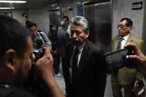 exdiputado Jorge Arévalo se presenta a Tribunales