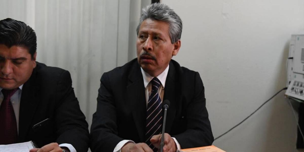Exdiputado Jorge Arévalo se pone a disposición de la justicia