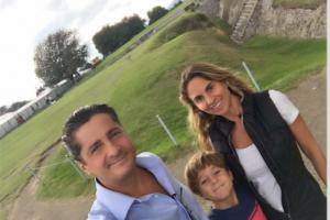La familia de Luis Miguel.