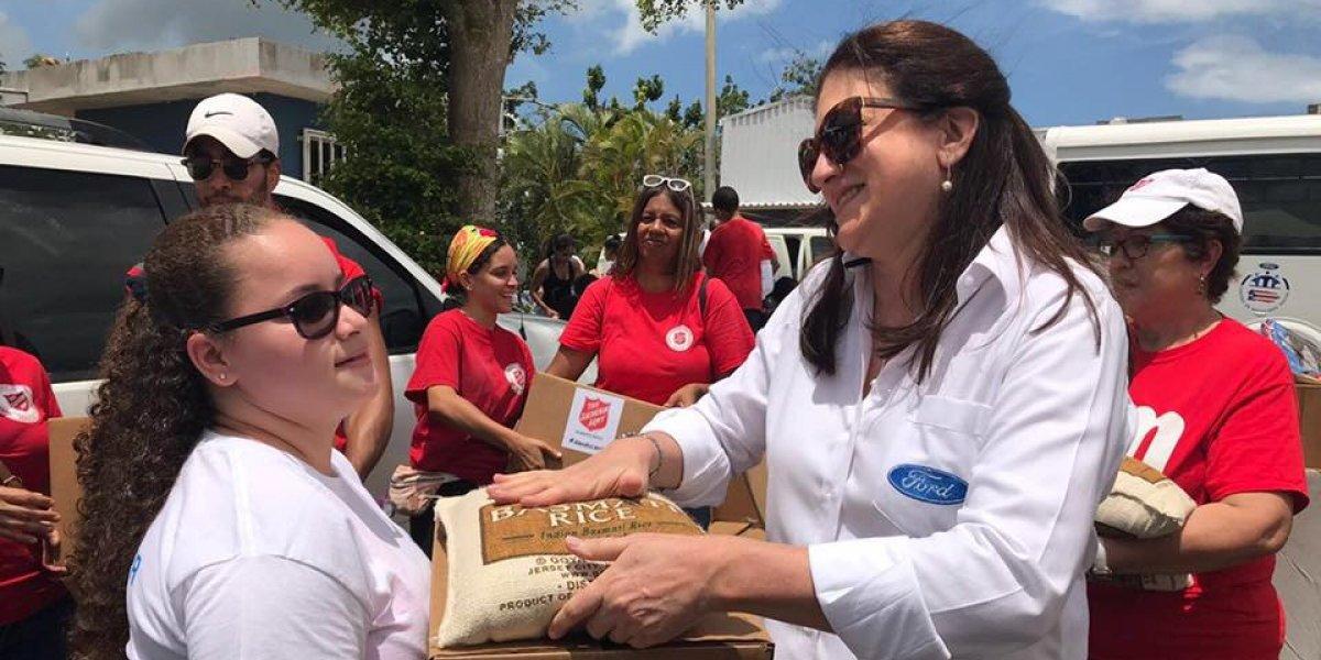 Ford abre segundo Centro de Movilidad Social para damnificados por huracanes