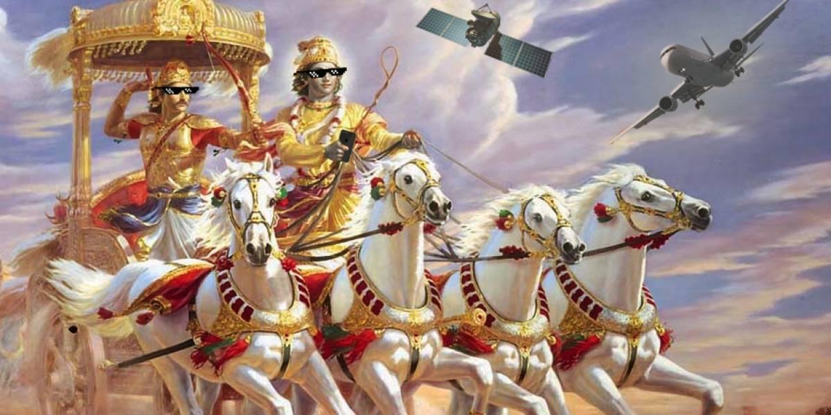 Un ministro de la India afirmó que en su país se inventó el internet y los satélites hace miles de años