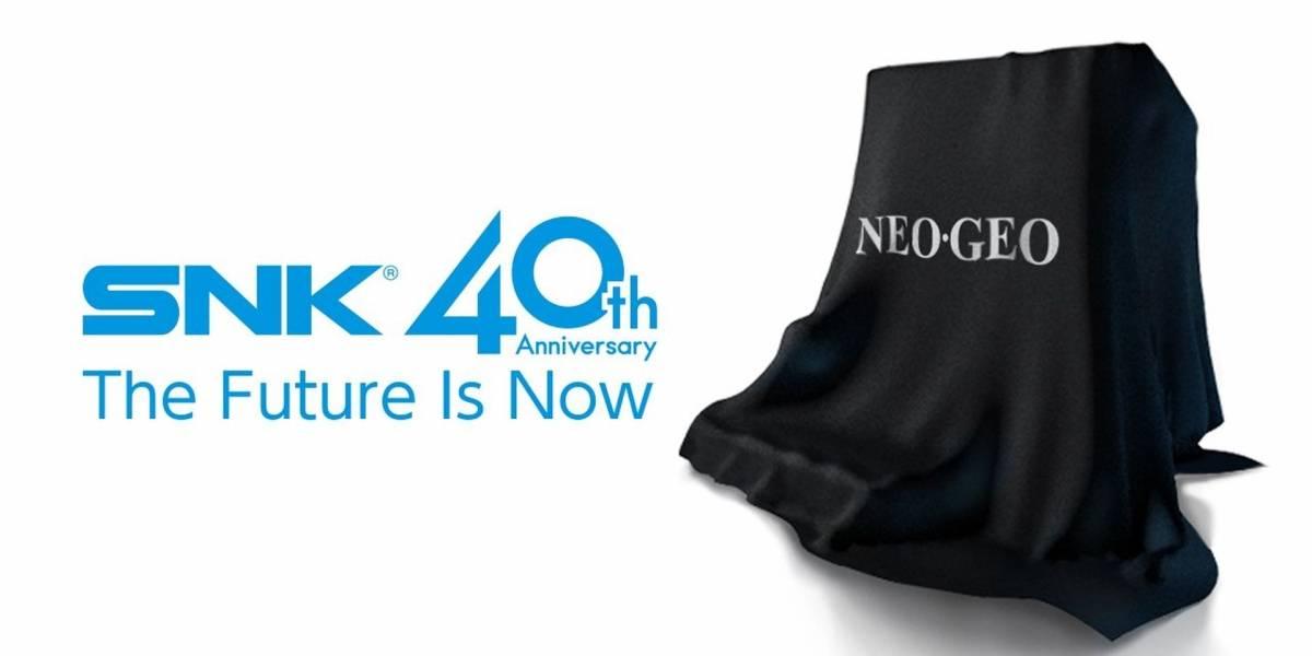 SNK lanzará su propia consola con recopilación de juegos de Neo-Geo