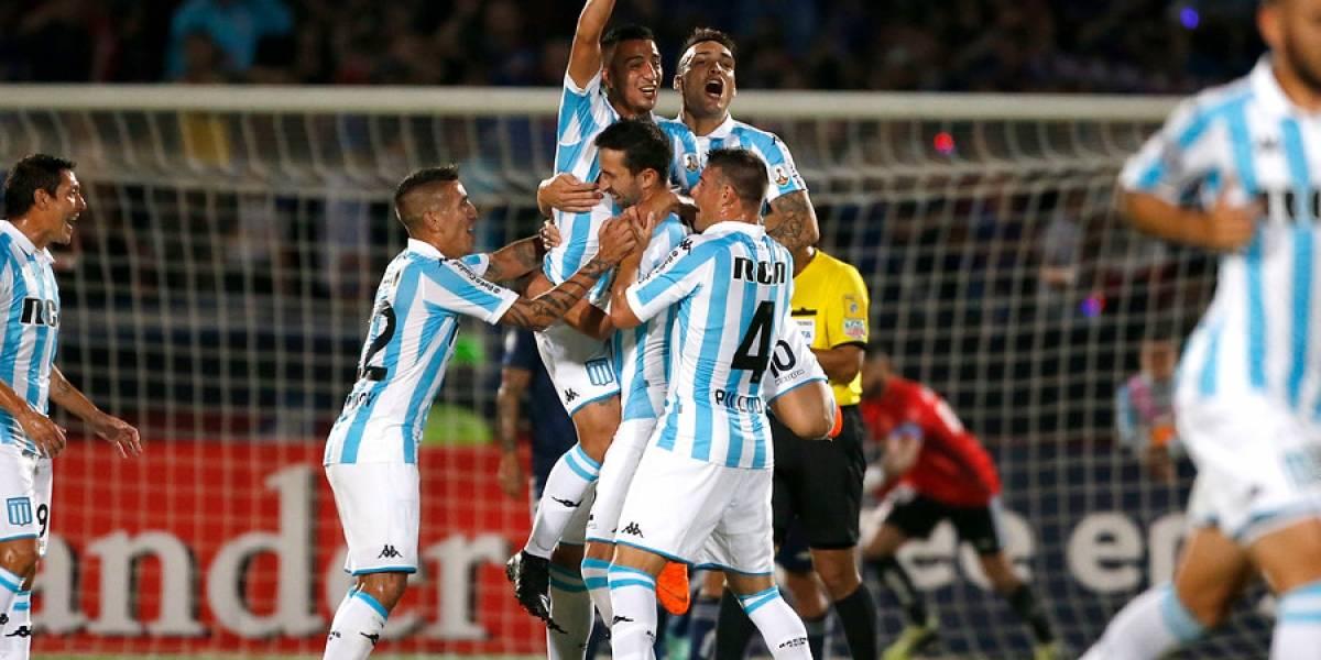 Minuto a minuto: Racing y Vasco juegan un partido clave en el grupo de la U en la Libertadores