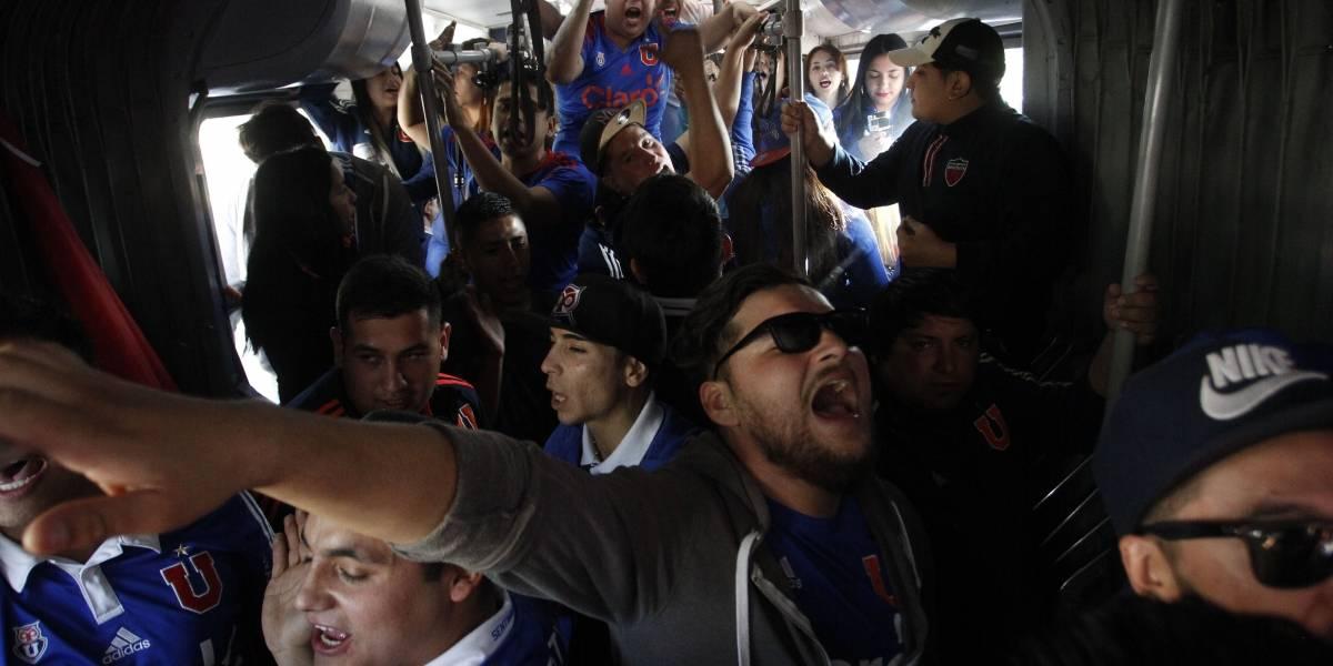 El Metro de Santiago se cuadra con la U: Línea 6 estará abierta hasta medianoche para el duelo ante Cruzeiro