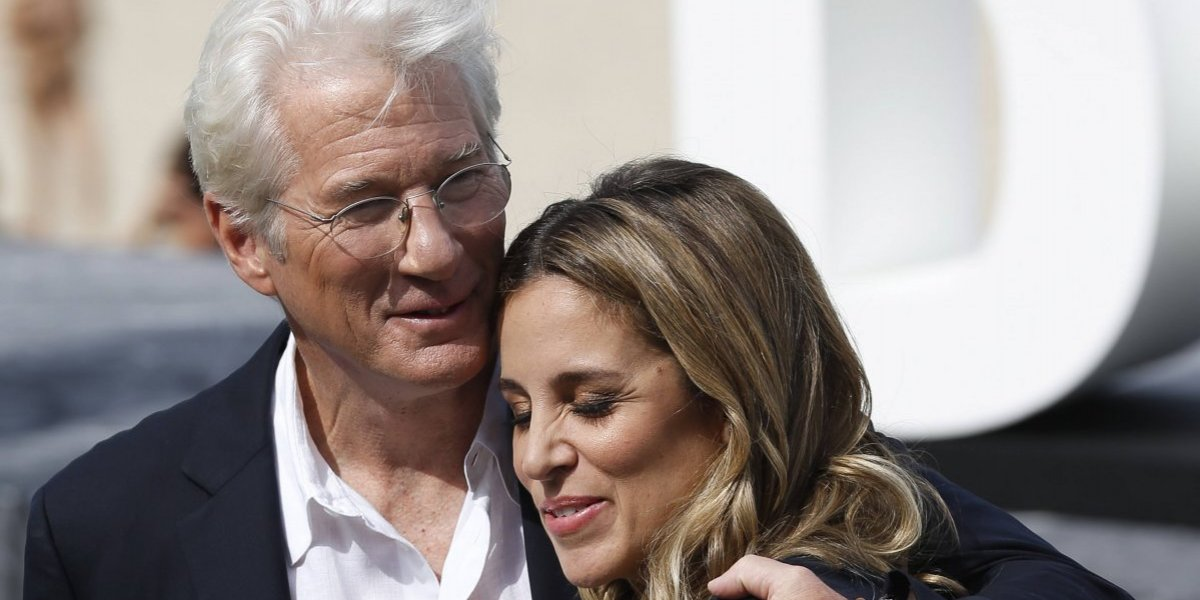 Richard Gere se casó en secreto con su pareja Alejandra Silva