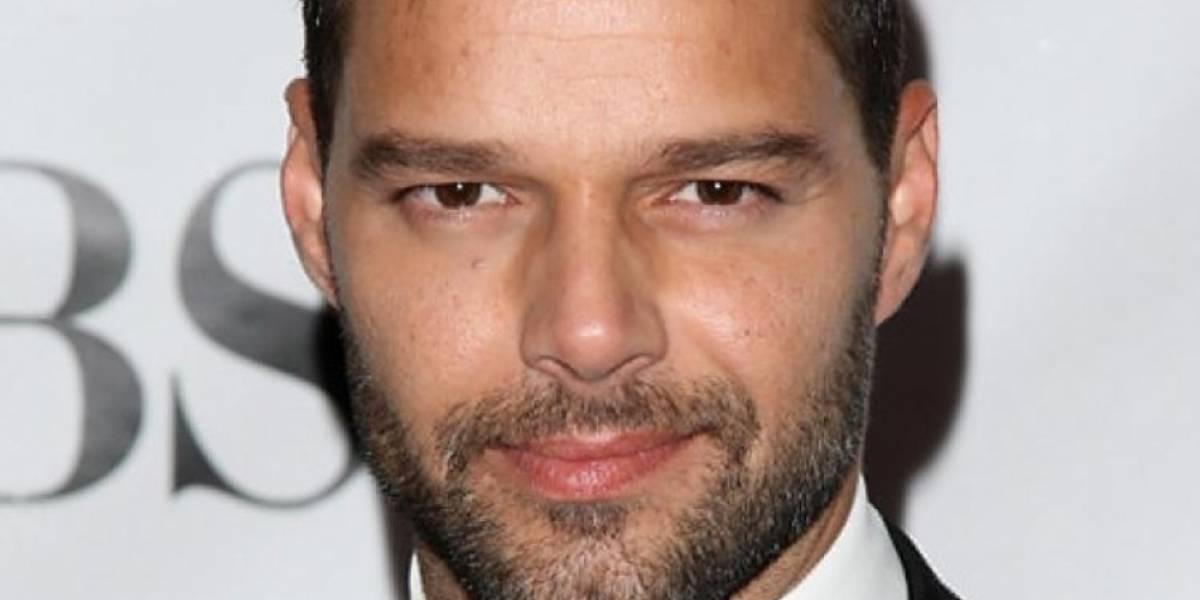 Ricky Martin reconocido por su labor humanitaria