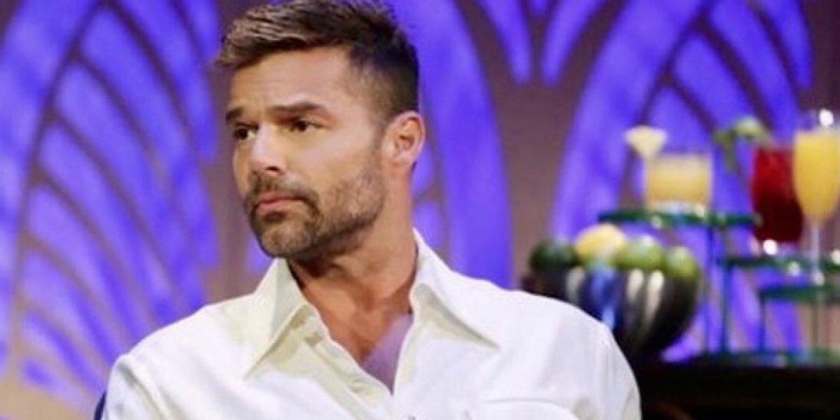Homenajean a Ricky Martin por su labor humanitaria