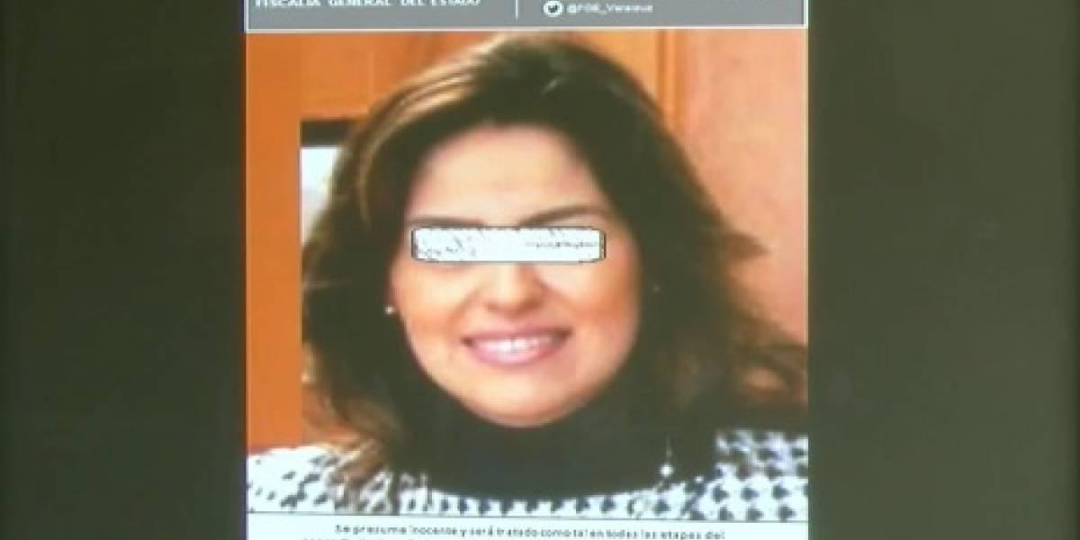 Fiscalía de Veracruz emite ficha roja contra exfuncionaria de Duarte