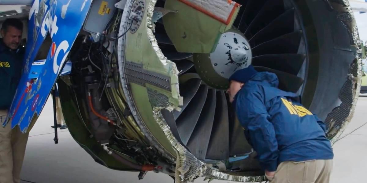 Southwest Airlines pide más tiempo para inspección de turbinas