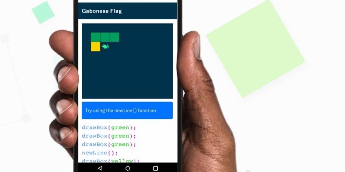 Google lanza aplicación gratis con todo lo necesario para introducirte en la programación