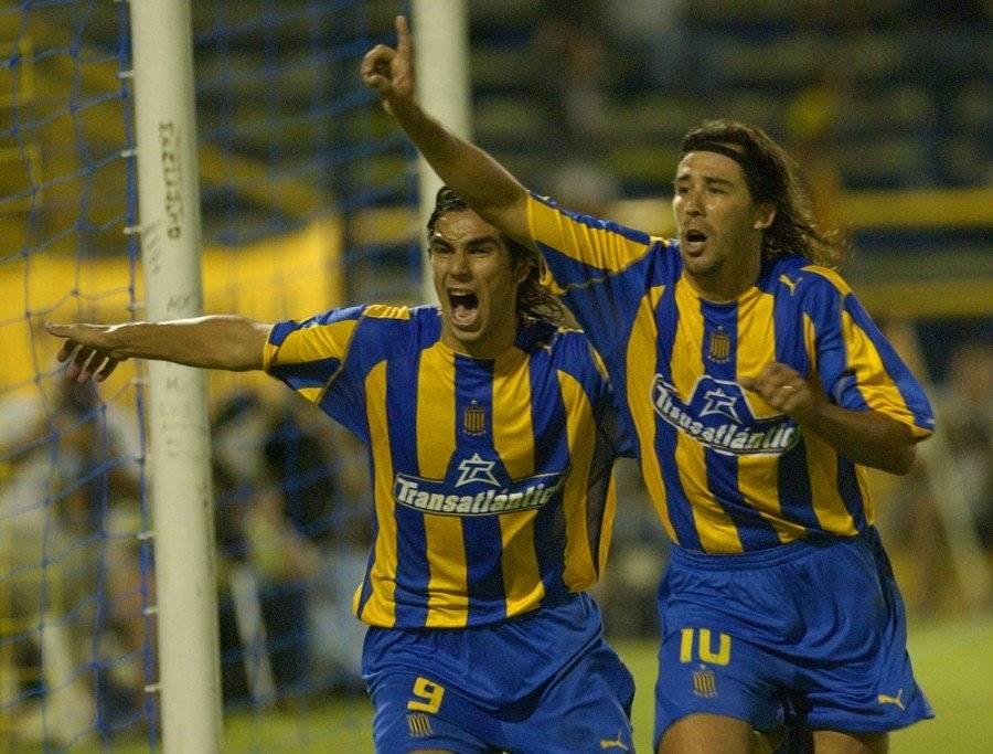 Vitamina, como jugador, lució la 10 de Rosario Central / Foto: AP