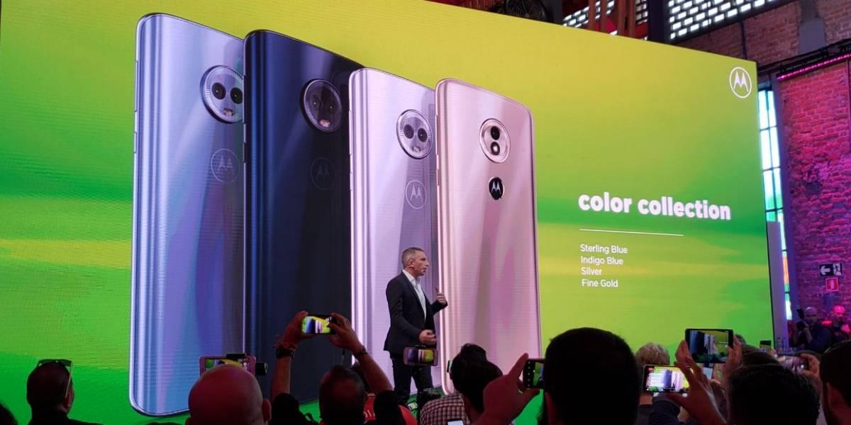 Motorola apresenta novas linhas de smartphones Moto G6 e E5