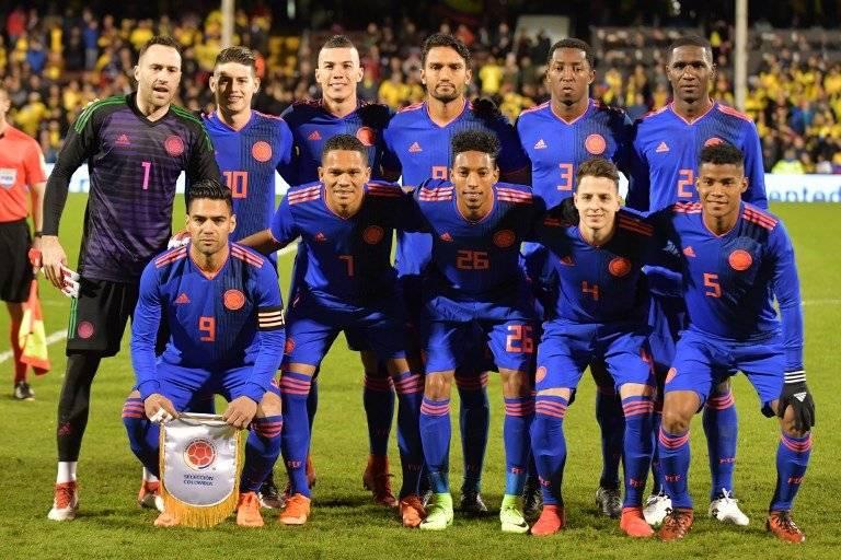 La selección colombiana en la Fecha FIFA