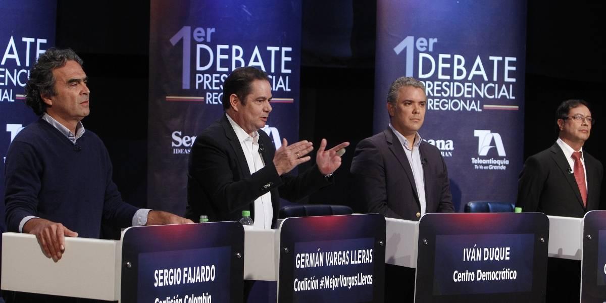 Este domingo llegarán todos los candidatos presidenciales al Canal Caracol