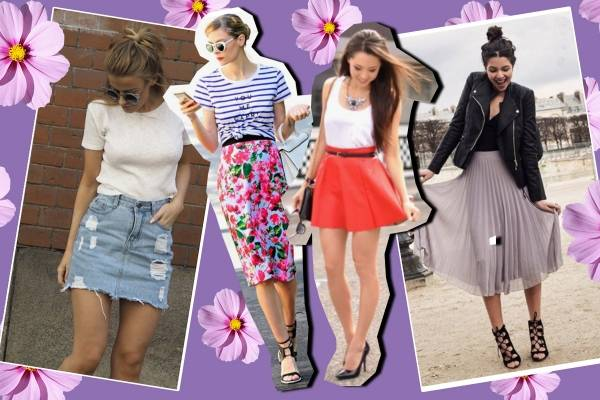 ed5bebf700 Ideas para lucir una falda y verte coqueta en toda ocasión