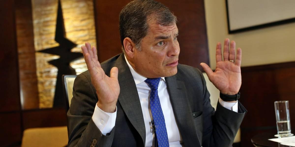 """El """"problema chistoso"""" por el que Correa no podría salir de Bélgica"""